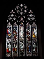 St Mary's Church east window, Denbigh (Pjposullivan1) Tags: stmaryschurch churchinwales anglicanchurch parishchurch denbigh gothicrevivalarchitecture stainedglass