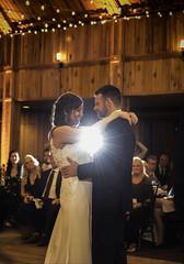 First Dance (The Wandering Cameraman) Tags: nikon d750 nikkor indoorphotography flashphotography wedding weddingphotography lights bride groom happycouple nikonphotography flash portrait portraitphotography
