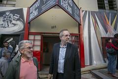Teatro_UM_9741 (Miguel Rossetto) Tags: 18092018 2018 fotodeubirajaramachado miguelrossettoemvisitaaoteatroarena portoalegre riograndedosul brasil