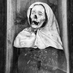 B&W Mummy 1 (ky_olsen) Tags: museodeelcarmen cdmx mexicocity mexico mummies blackwhite creepy
