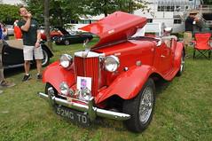 1952 MGTD (4) (Gearhead Photos) Tags: jaguar e type mga mgb mgtc mgc gt english cars british delorean mgf xk xj xjs xf v8 ford cortina austin healey morgan plus 4 convertible 120 140 150 waterfront park north vancouver bc canada