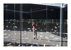_K001732 (Jordane Prestrot) Tags: ♍ jordaneprestrot tenerife santacruzdetenerife autoportrait selfportrait autoretrato réflexion reflection reflexión bibliothèque biblioteca library lumière light luz