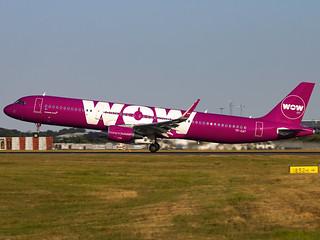 WOW Air | Airbus A321-211(WL) | TF-CAT