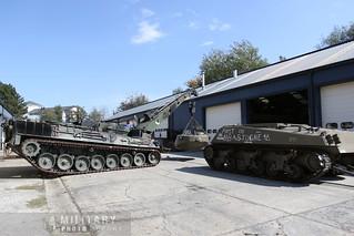 le Bergepanzer et le chassis du sherman