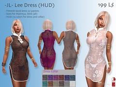 -JL- Lee Dress (HUD) (Jana & Little´s SL World) Tags: jana little´s sl world jl