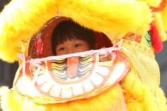 IMGL4182 (taticoma) Tags: brassband brass music musician child china red school teenage lion yellow liondance chinaculture traditional