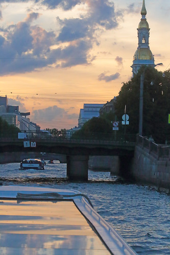 Sunset Over Saint Petersburg