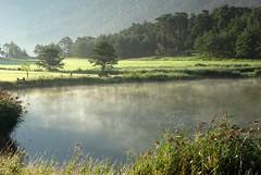 lac de Valentin (b.four) Tags: lac lago lake étang pond valentin valderoure brumelégère slighthaze