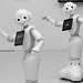 21st century robots. Seen from the future, they will just look cute.