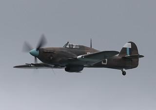 Hawker Hurricane  IIc PZ865 BBMF 002-1
