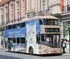 London United - LT168 - LTZ1168 - Emerging Pakistan (Waterford_Man) Tags: londonunited lt168 ltz1168 hybrid wrightbus nrm emergingpakistan