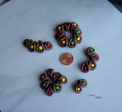 SMALL BEADS (Fimeli) Tags: beads colors polyclay polymerclay handmade handwork