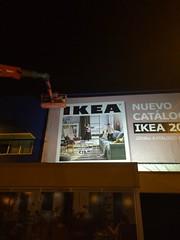 Cambiando la Lona del Ikea