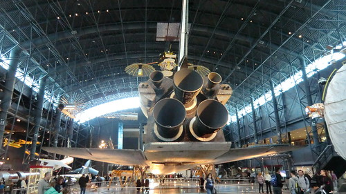 NASA Space Shuttle DISCOVERY @ Udvar-Hazy Center: Icon of the manned space flight