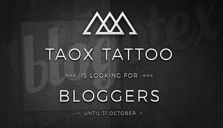 TAOx looking for Bloggers until october 2018