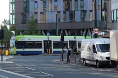 CT 2543 @ West Croydon bus station (ianjpoole) Tags: croydon tramlink bombardier cr4000 2543 working service from west elmers end