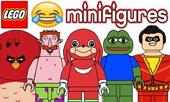 Funny Lego Minifigures !!! Part 3 (afro_man_news) Tags: lego minifigures funny memes spongebob squarepants characters all patrick star custom tv show must wacth jokes cartoon wars yoda do you know da wae incredibles shazam angry birds terence movie game lilo stitch frog meme