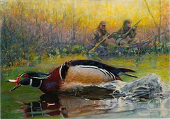 2018 Federal Duck Stamp Contest Entry 013 (USFWS Headquarters) Tags: duck stamp migratory birds conservation art wetlands