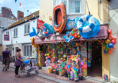 If You Didn't Know You're in a Seaside Resort Town ... (Non Paratus) Tags: weymouth dorset england uk multicolored toys shop