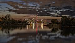 Toronto sunrise (sspike@rogers.com) Tags: toronto sunrise dawn steverossi tamron 2470 g2 colour reflection cityscape ontario canada