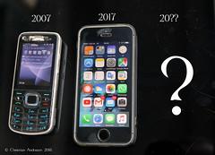 ... What's Next ?? ... (ChristianofDenmark) Tags: christianofdenmark copenhagen denmark autumn cellphone iphone nokia apple whats next smartphone