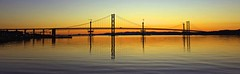 the original Forth Road Bridge (johnny_9956) Tags: canon bridge sunset darkness night scotland forth river water road