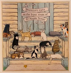 September..... (Little Hand Images) Tags: edwardgorey artist author american whimsical calendar cats