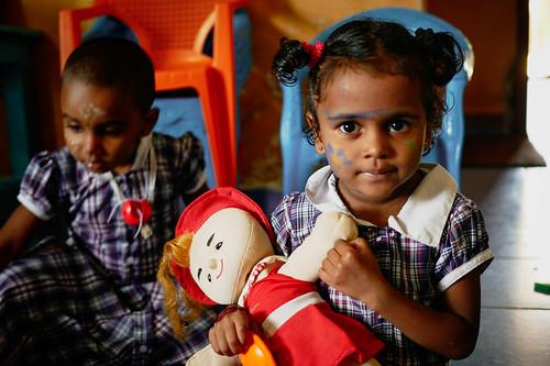 Namaste nursery, Tamil Nadu, India, 2018