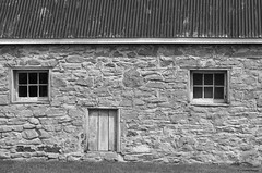 WAUPOOS WALL (S. J. Coates Images) Tags: princeedwardcounty fall autumn blackandwhite building