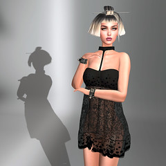 LuceMia - The Darkness Monthly Event (2018 SAFAS AWARD WINNER - Favorite Blogger - MISS ) Tags: thedarknessmontlyevent w6 bracelets dress collar lace verom unisex exclusive poses anaboutique event set man female lemporio sl secondlife mesh fashion creations blog beauty hud colors models lucemia