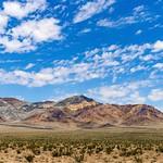The Hills on US95 in the Nevada Desert Near Beatty. thumbnail
