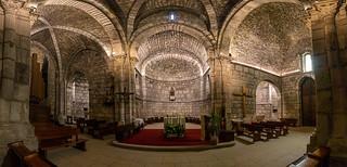 Santuario de Estibaliz - Absides y Transepto
