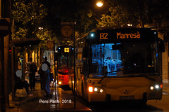 180822  1017 (chausson bs) Tags: tusgsal badalona autobuses autobusos buses iveco irisbus noge b2 2018 busstop nit nocturnas nocturnes noche nuit night