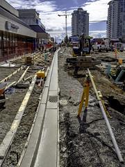 It poured (Tony Tomlin) Tags: whiterockbc britishcolumbia canada southsurrey construction curbing