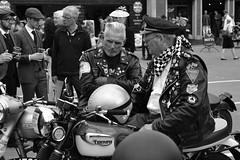 DSC_2151_00001 (Storm Bear) Tags: goodwood vintage revival 2018 triumph leather jacket badges