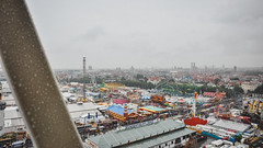 View from above die Wiesn (rjdibella) Tags: germany munich summer 2011 europe oktoberfest bayern de