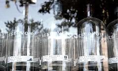Reservoir (pjpink) Tags: reservoir whiskey bottles reflection scottsaddition rva richmond virginia august 2018 summer pjpink 2catswithcameras