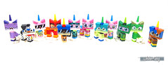 Did you manage to collect all of these 12 characters? (WhiteFang (Eurobricks)) Tags: lego bind bags unikitty series 1 brick built animals kitty puppy box colourful vibrant sunshine cheerful fun pink