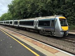 Chiltern 168 113 @Warwick (Kris Davies (megara_rp)) Tags: warwick warwickshire railway stations trains