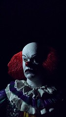 Pennywise the dancing clown (custombase) Tags: it pennywise clown timcurry neca ultimate figure toyphotography