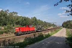 DBC 6455, Holten (cellique) Tags: dbc 6455 holten containertrain landmacht goederentrein cargo spoorwegen treinen eisenbahn zuge railway train