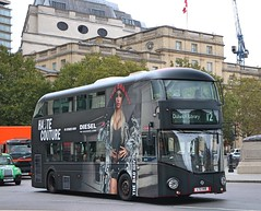 Go Ahead London Central - LT418 - LTZ1418 - Diesel (Waterford_Man) Tags: diesel lt418 ltz1418 wrightbus nrm hybrid goaheadlondoncentral