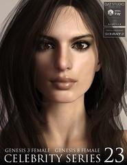 Celebrity Series 23 (Adam Thwaites) Tags: celebrity character genesis3female genesis8female daz3d dazstudio texture shader morph skin body head