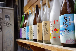 Backstreet sake selection