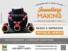 Jewellery Making (Caveman Studio) Tags: jewellerymaking jewels training collections necklace earrings bracelet cavemanstudios silkthread