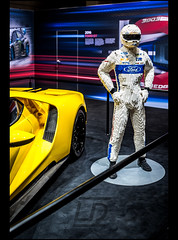 Ford GT & his Lego Driver (Laurent DUCHENE) Tags: geneva motorshow car automobile automobiles auto 2017 ford gt his lego driver