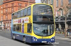 Dublin Bus GT159 (132D11611). (Fred Dean Jnr) Tags: dublin march2015 dublinbusyellowbluelivery dublinbus busathacliath pboro volvo wright wrightbus oconnellstreetdublin dublinbusroute9 gemini2 gt159 132d11611