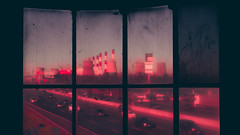 DSC01059 (Mr. Sokolov) Tags: sony sonya7 twilight city sonyphoto sonyphotorussia darkness red russia electric future cityscapes moscow street nightlights light lights neon cyberpunk reflection colorful москва architecture