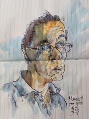 Manuel M. pour #jkpp    #juliakaysportraitparty #portrait #sketch (dege.guerin) Tags: portrait jkpp juliakaysportraitparty sketch