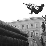 Jumping biker during streetlife festival conducted by King Ludwig I. thumbnail